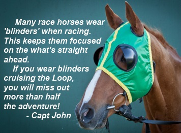 Don't cruise the Loop with blinders!